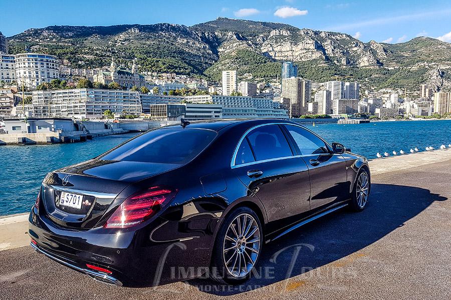 limousine tours monaco luxury car rental new s350l 2018 facelift. Black Bedroom Furniture Sets. Home Design Ideas